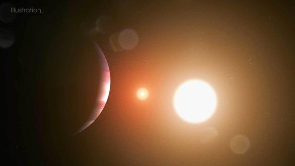 Một học sinh phát hiện hành tinh có hai mặt trời khi thực tập mới... 3 ngày - Ảnh 1.