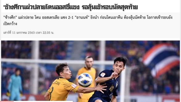 Báo Thái Lan thất vọng, chê U23 quá yếu trước U23 Úc - Ảnh 1.