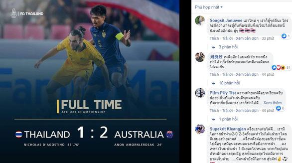 Thua ngược Úc 1-2, cổ động viên Thái tiếc nhưng rất tự hào - Ảnh 1.