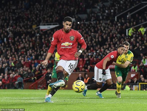 Rashford lập cú đúp, M.U đè bẹp đội cuối bảng Norwich - Ảnh 2.