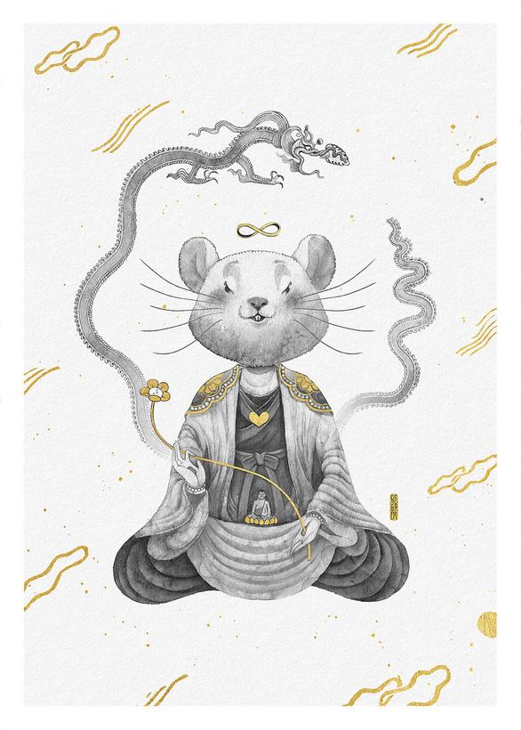 Dự án Bé Chuột: Chuột cũng có chuột tiên, chuột thiền - Ảnh 1.