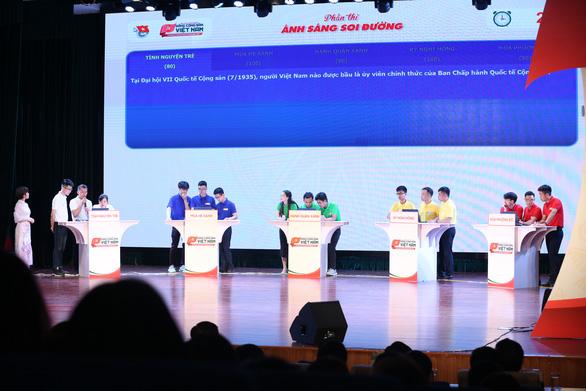 Đội Tình nguyện trẻ đoạt giải nhất tìm hiểu về Đảng - Ảnh 3.