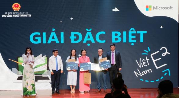 3 giáo viên đoạt giải đặc biệt về sáng tạo trong giáo dục - Ảnh 1.