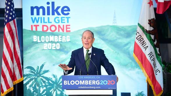 Tỉ phú Bloomberg: 'Tôi sẽ dành toàn bộ tiền bạc để loại ông Trump' - Ảnh 1.