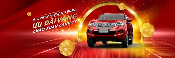 Mua Nissan Terra nhận ngay ưu đãi vàng nhân dịp Xuân Canh Tý - Ảnh 1.