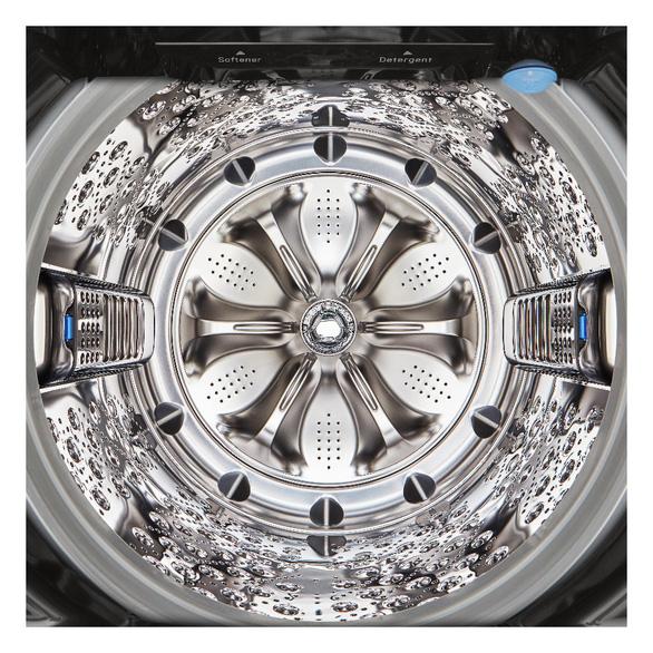 Máy giặt lồng đứng hơi nước DD - Giặt giũ hiệu quả trong đời sống hiện đại - Ảnh 3.