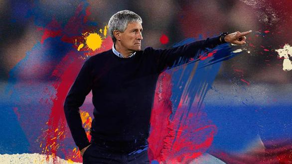 Barca sa thải HLV Valverde, bổ nhiệm Quique Setien thay thế - Ảnh 1.