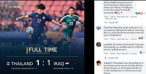 Cổ động viên Thái: Hòa mà cảm giác như vô địch World Cup vậy - Ảnh 1.