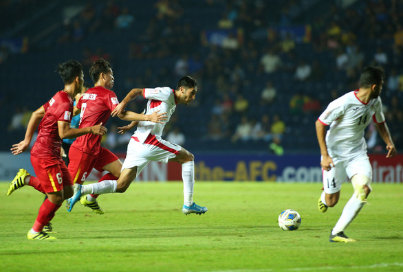 Tuyển U23 Jordan chơi hay hơn U23 Việt Nam - Ảnh 1.