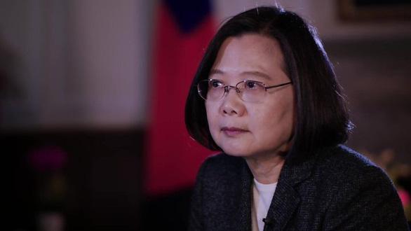 Bà Thái Anh Văn: Trung Quốc nên chấp nhận thực tế và tôn trọng Đài Loan - Ảnh 1.