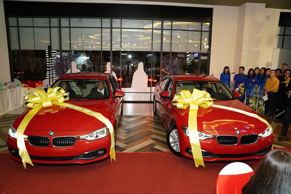 C.T Group thưởng Tết bằng xe hơi BMW - Ảnh 1.