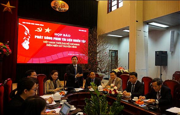 90 tập biên niên sử truyền hình về thời đại Hồ Chí Minh sẽ phát sóng giờ vàng - Ảnh 3.