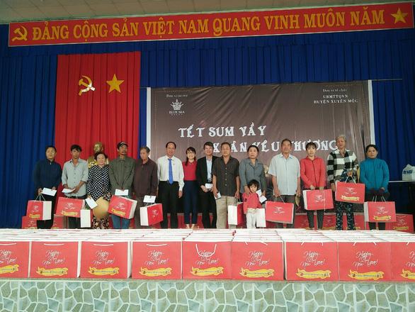 Blue Sea Group trao quà Tết cho các hộ nghèo huyện Xuyên Mộc - Ảnh 1.