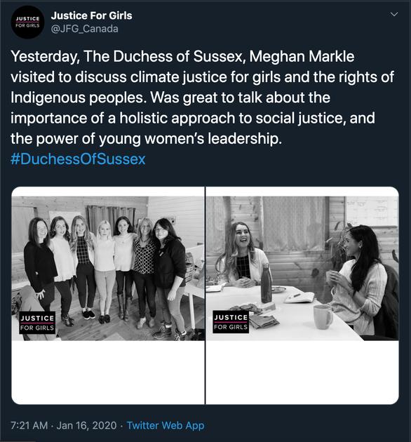 Meghan Markle dành trọn ngày đầu xuất hiện sau khi ra riêng cho nữ quyền - Ảnh 2.
