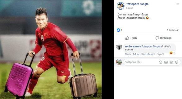 Cổ động viên Thái Lan hả hê vì U23 Việt Nam bị loại - Ảnh 1.