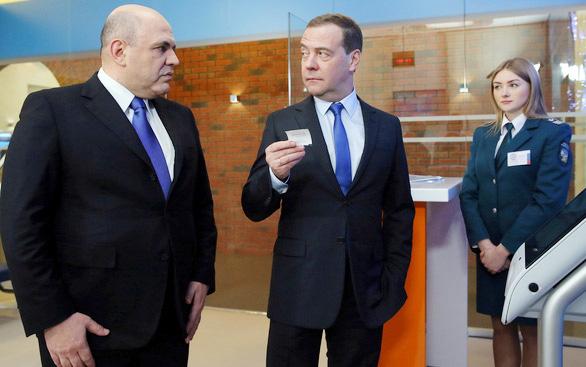 Tân thủ tướng Mikhail Mishustin là ai? - Ảnh 1.