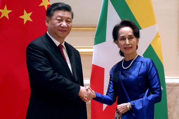 Ông Tập Cận Bình thăm Myanmar, hứa hẹn đầu tư nhiều tỉ đô - Ảnh 1.