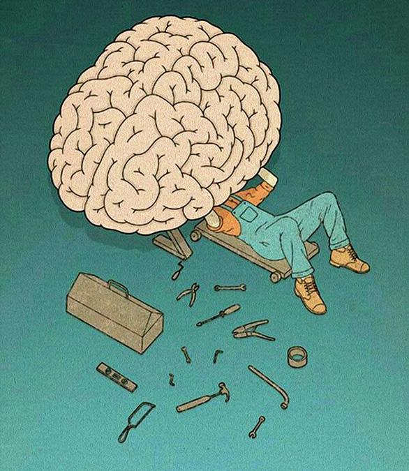 Tẩy não để đón xuân - Ảnh 1.