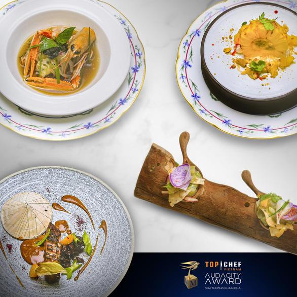 Trải nghiệm ẩm thực đẳng cấp 5 sao của quán quân chinh phục đầu bếp Michelin - Ảnh 1.