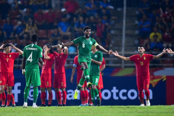 Thua U23 Saudi Arabia 0-1, chủ nhà Thái Lan vỡ mộng Olympic - Ảnh 1.