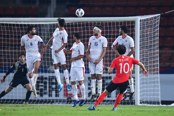 Thắng kịch tính Jordan, U23 Hàn Quốc giành vé vào bán kết U23 châu Á - Ảnh 1.