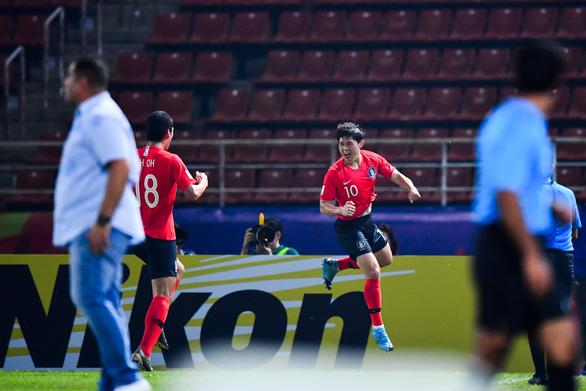 Thắng kịch tính Jordan, U23 Hàn Quốc giành vé vào bán kết U23 châu Á - Ảnh 2.