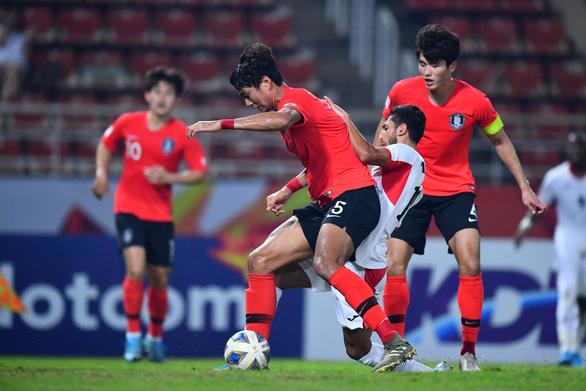 Thắng kịch tính Jordan, U23 Hàn Quốc giành vé vào bán kết U23 châu Á - Ảnh 3.