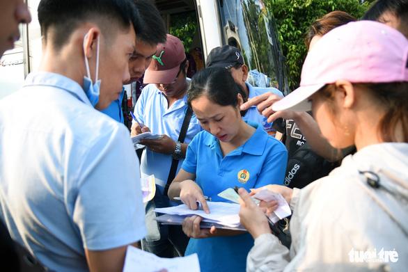 Đồng Nai: Hơn 200 chuyến xe miễn phí đưa công nhân về quê đón tết - Ảnh 3.