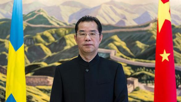 Thụy Điển triệu tập đại sứ Trung Quốc phản đối phát biểu đe dọa tự do ngôn luận - Ảnh 1.