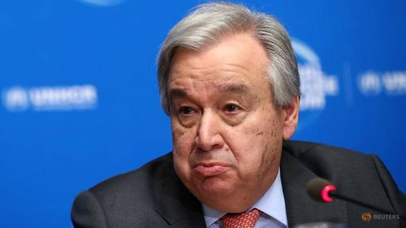 Tổng thư ký Liên Hiệp Quốc quan ngại sâu sắc về thông điệp của Triều Tiên - Ảnh 1.