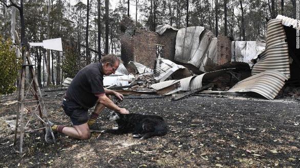 Thảm cảnh của người dân Úc trong mùa cháy rừng kinh hoàng - Ảnh 5.