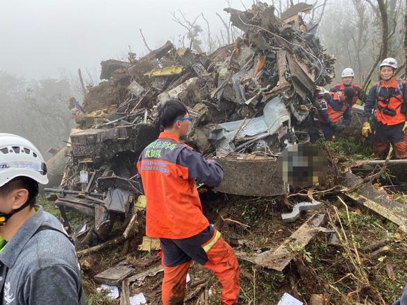 Chỉ huy lực lượng vũ trang Đài Loan thiệt mạng do tai nạn máy bay - Ảnh 1.