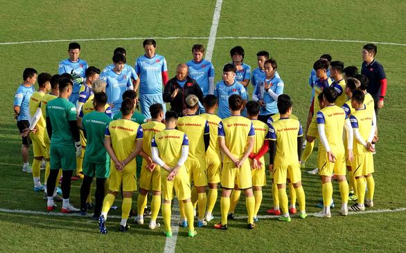 U23 Việt Nam bắt đầu lắp ghép đội hình - Ảnh 1.
