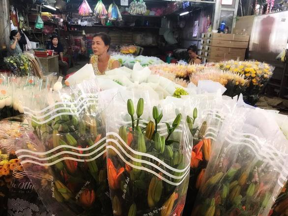 Chợ hoa sỉ lớn nhất Sài Gòn có nguy cơ vỡ trận như 2 năm trước? - Ảnh 3.
