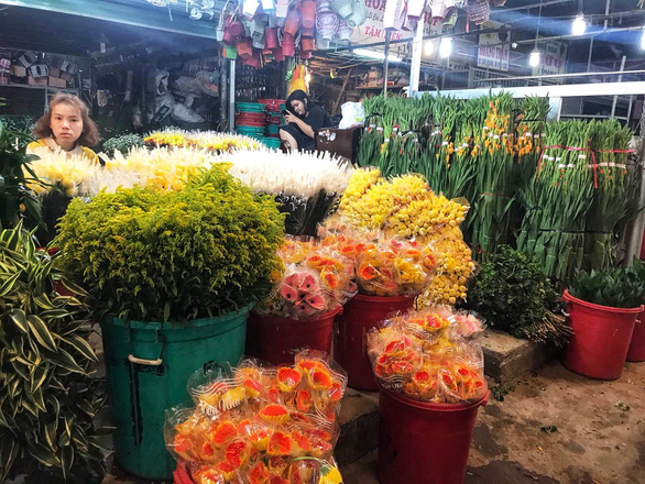 Chợ hoa sỉ lớn nhất Sài Gòn có nguy cơ vỡ trận như 2 năm trước? - Ảnh 1.