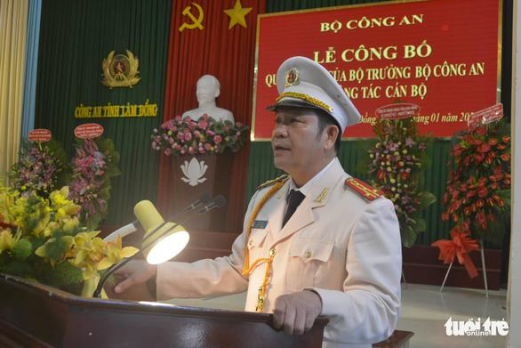Phó giám đốc Công an tỉnh Đắk Nông làm giám đốc Công an tỉnh Lâm Đồng - Ảnh 1.