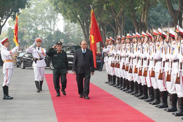 Thăm Bộ tư lệnh Cảnh sát cơ động, Thủ tướng chia sẻ về sự việc Đồng Tâm - Ảnh 1.