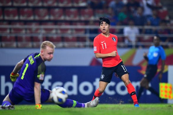 Thắng thuyết phục, U23 Hàn Quốc đoạt vé vào chung kết Giải U23 châu Á - Ảnh 1.