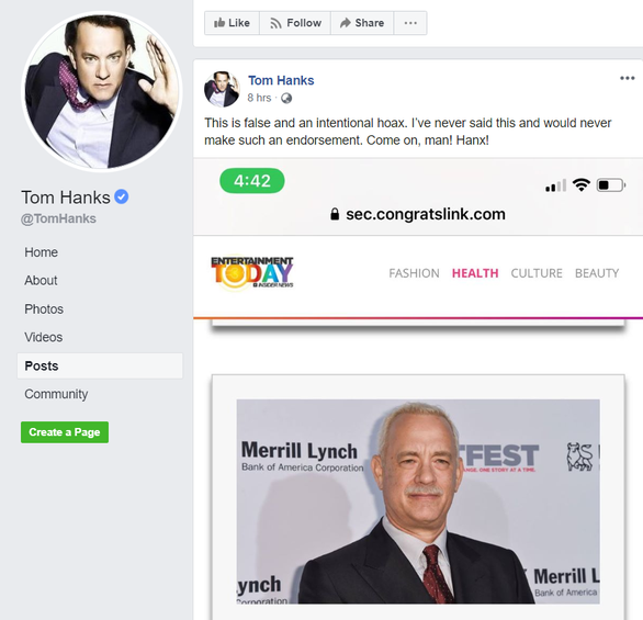 Tom Hanks bức xúc vì bỗng dưng thành người quảng cáo cần sa - Ảnh 1.