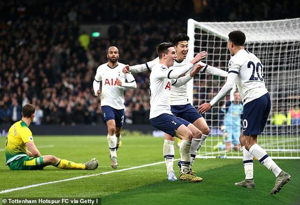 Son Heung-Min lập công, Tottenham tìm lại niềm vui chiến thắng - Ảnh 1.