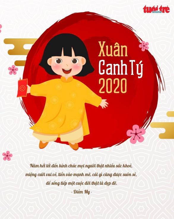 Thiệp chúc tết 2020 ý nghĩa gửi người thương yêu - Ảnh 3.