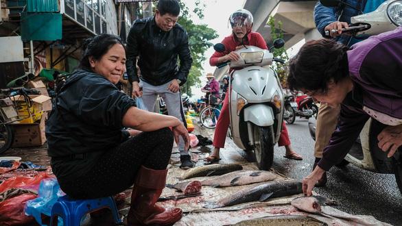 Người Hà Nội chen chân trong phiên chợ cuối cùng của năm - Ảnh 2.