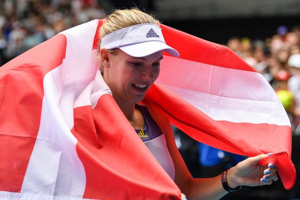 Hoa khôi quần vợt Wozniacki giải nghệ trong nước mắt - Ảnh 7.