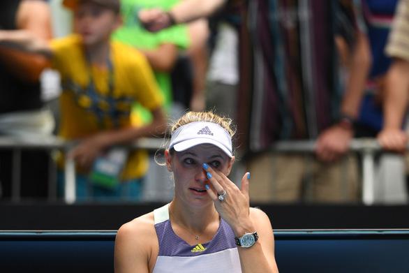 Hoa khôi quần vợt Wozniacki giải nghệ trong nước mắt - Ảnh 6.