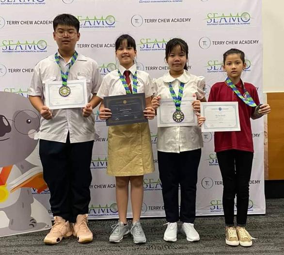 Việt Nam giành 1 HCV kỳ thi Olympic toán học quốc tế SEAMO - Ảnh 1.