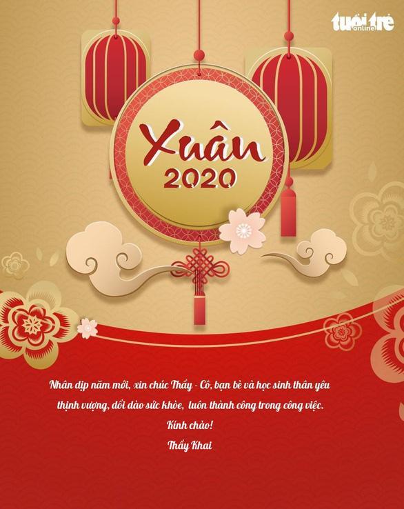 Cùng Tuổi Trẻ Online tạo thiệp chúc tết thầy cô năm mới 2020 - Ảnh 5.