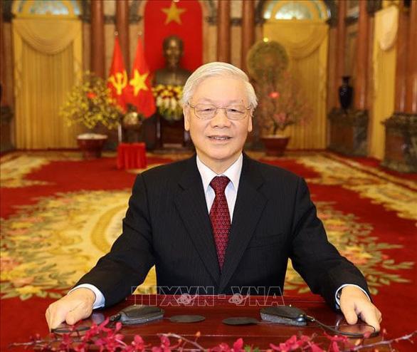 Lời chúc tết của Tổng bí thư, Chủ tịch nước Nguyễn Phú Trọng - Ảnh 1.
