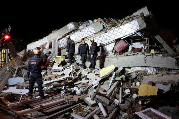 Động đất ở Thổ Nhĩ Kỳ, ít nhất 21 người chết - Ảnh 1.