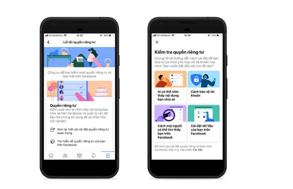 Facebook cập nhật hướng dẫn cài đặt quyền riêng tư cho người dùng - Ảnh 1.