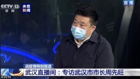 Thị trưởng Vũ Hán nhận trách nhiệm, nói sẵn sàng từ chức nếu người dân yêu cầu - Ảnh 1.